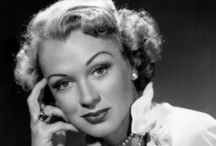 Eve Arden / Eve always brought an element of wit and charm to her roles as the wise-crack sidekick.