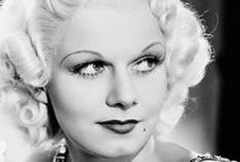 Jean Harlow / America's baby who was gone too soon.