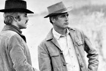 Newman & Redford / The original Hollywood buddies.