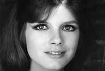 Katharine Ross / Katharine Ross is so beautiful and definitely had the doe eyes for the 60s look.