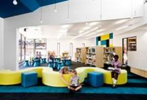 Contemporary Classrooms / Ideas for designing contemporary 21st century learning areas to maximise student engagement and learning.
