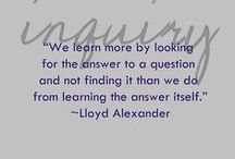 Inquiry Learning / Ideas for engaging students in learning using the Inquiry Approach