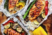 Barbecue recipes / A collection of delicious recipes for the barbecue