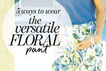 Multi-Tasking Must Haves / Transitional pieces that turn one outfit into many.