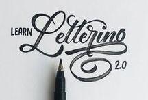Handlettering / Handlettering inspiration