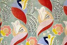 Vintage Textile Design / Pattern colour design repetition