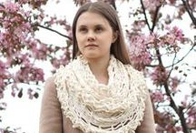 Valerie Baber Designs / Scarves, hats, hand warmers, yarn, knitting kits