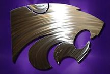 Kansas State University / All stainless steel art is available on our website for purchase! www.ssdesignconcepts.com
