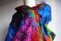 felted scarves