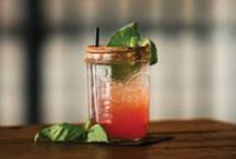 edible Cocktails / Whatever the occasion and time of day, these are the cocktails (and the shrubs, syrups, and bitters) that will impress everyone. #cocktails #loyaltolocal