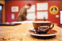 Local Coffee & Tea / Meet small coffee bean roasters and tea brewers, plus the quaint shops where you can get the perfect cup. #loyaltolocal #coffee #tea