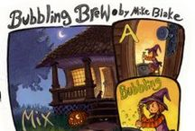 Bubbling Brew / A poem written and illustrated by Mike Blake. (A Halloween gift to everyone!)