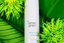 Beach Babe / Our beach babe intoxicates with the gentle yet enticing scents of tropical breezes, coconut cream, golden suntan oil with a touch of sunshine. Close your eyes and let the warmth of the sun soothe you as the waves and salt air take you away. www.ismellgreat.com