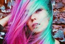 Crazy Colours! / Looking for fun colour inspiration? Check out some of these bad boys for your hair needs! / by The Coquitlam Chop Shop