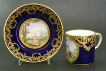 ANTIQUE SEVRES PORCELAIN / 18th and 19th Century Porcelain From the Sevres Factory.  / by Robert McPherson
