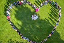 Bröllopsfoto - Wedding photo / Bröllopsfotografier tagna av Grafikstudion