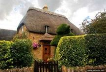 Thatched houses