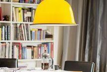 Värikästä! / Oletko kyllästynyt hillittyihin väreihin? Lisää kotisi kiintopisteeksi kaunis väriläiskä tai sisusta rohkeasti eri värejä yhdistellen.