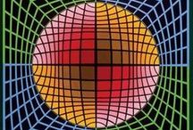 Victor Vasarely - Vega period / Op Art
