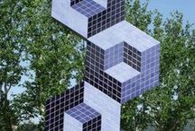 Victor Vasarely - Sculptures