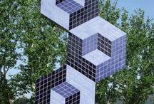 Victor Vasarely - Sculptures