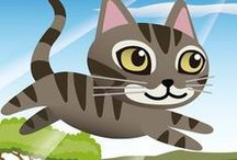JumpJump Cat - Free Cat Game | iOS / https://itunes.apple.com/us/app/jumpjump-cat-cat-games-free/id1051817756?mt=8