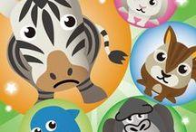 Smash Animals Fun Animal game | iOS / https://itunes.apple.com/jp/app/smash-animals-fun-animal-game/id1053377134?l=en&mt=8