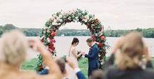 MOSCOW AUTUMN WEDDING