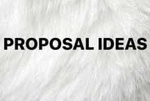 Proposal ideas