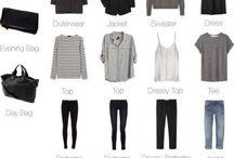 Capsule wardrobe / Simplify that closet with a capsule wardrobe