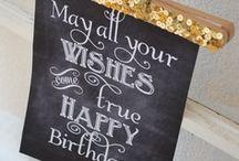 Geburtstag Ideen