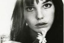 Jane Birkin / I ♡ Jane Birkin and her doughter, Charlotte Lucy Gainsbourg, Lou Doillon.