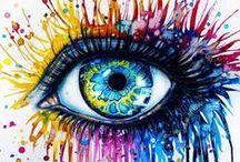 COLORES / El color (en griego: χρώμ-α/-ματος) La naturaleza y el ser humano están directamente vinculados a los colores, y con ellos, el estado de ánimo. Así, cada estación del año marca la pauta: el invierno sugiere tonos serios, neutros, fríos; mientras el verano en contraste, calienta el alma con colores brillantes.  / by Sonia VI