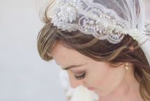 J U L I E T C A P  V E I L S / Some of my beautiful brides wearing Megan Therese Couture