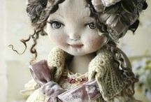 """THE INCREDIBLE WORLD OF """"ART"""" DOLLS / by karyl moyer"""