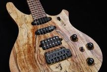 Waghorn Electric Guitars / Examples of some of our custom electric guitars