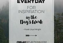 Inspirational & Motivational Quotes / I love quotes, don't you? Quotes inspire, motivate, and make us stop and think.