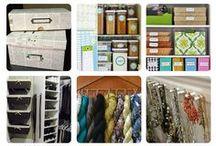 Organizando & DIY / Meu sonho de consumo é um dia ter tudo arrumado e organizado... mas continuando tentando! / by Linda Beauté