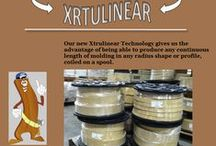 Flex Trim XTRULINEAR / Flex Trim XTRULINEAR offers lengths ranging from 12' all the way up to 500', in one continuous piece and with the same outstanding quality.
