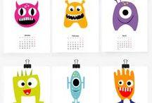 free printable • calendar 2014-15