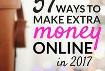 Make Money From Home / Want to be your own boss? Check out these tips and ideas on how to make money from home, including extra ways to make money or a side income, how to make money on the internet, ways to make money fast + ways to make extra money online...