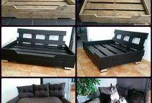 My DIY  - Dog modern bed using old pallets / My Diy