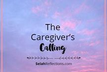 Caregiving / Caregiving is calling that can easily take over our lives. As caregivers we need to establish healthy personal boundaries, find support, and make time for intentional self-care.