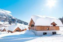 Winterurlaub / Skihütten, Ferienhäuser und Ferienwohnungen für einen erholsamen Winterurlaub mit der Familie oder Freunden in den schönsten Wintersport- und Skiregionen - das bietet TUI Ferienhaus.