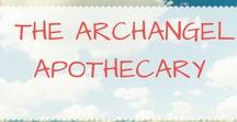 Archangel Apothecary / How to work with and communicate with the Archangels with herbs and essential oils. Recipes taken from the book, The Archangel Apothecary: Incense, Oils, Potions, & Prayers for Everyday Life. archangels, essential oils, aromatherapy, herbs, herbalism, angel communication, incense, tea, soap making, angel charms, bath salts, prayer water, herbal sachets   For more information about the book click through on the following link: https://store.bookbaby.com/book/The-Archangel-Apothecary