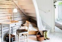 Hall och trappor