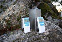 Kosteusmittarit / Kosteusmittareita eri materiaaleille.