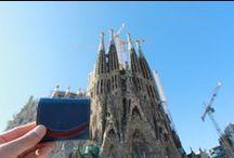 """旅財布 世界を旅した小さいふ / 海外旅行先で、小さいお財布""""小さいふ""""と一緒に撮っていただいた写真たちです。"""