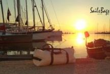 Sails Bags On The Dock / All photos is shooting on the Nautical Club of Thessaloniki.  Info: +30 6908651234