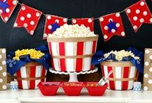 Fourth of July Celebration Ideas / Excited for the Fourth? See these fun ideas for ways to amp up your Fourth of July party!